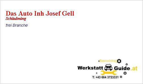 Das Auto Inh Josef Gell Werkstatt Guideat
